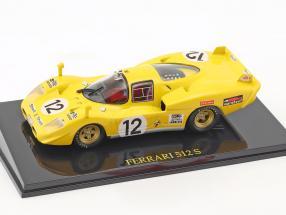 Ferrari 512 S #12 24h LeMans 1970 Fierlant, Walker mit Vitrine 1:43 Altaya