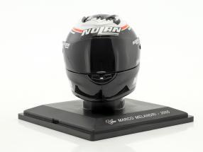 Marco Melandri MotoGP 2005 helmet 1:5 Altaya