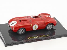 Ferrari 375 Plus #4 Winner 24h LeMans 1954 Gonzalez, Trintignant mit Vitrine 1:43 Altaya