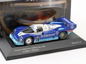 Porsche 956 B Brun #19 1000km Spa 1985 Bellof, Boutsen 1:43 CMR