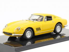 Ferrari 275 GTB yellow with showcase 1:43 Altaya