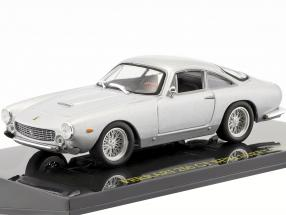 Ferrari 250 GT Berlinetta Lusso silver with showcase 1:43 Altaya