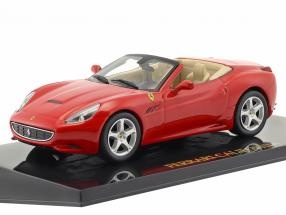 Ferrari California red with showcase 1:43 Altaya