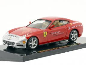 Ferrari 612 Scaglietti China Tour red / silver with showcase 1:43 Altaya