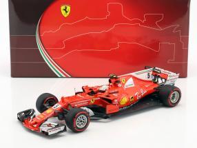 Sebastian Vettel Ferrari SF70H #5 Winner Monaco GP Formel 1 2017 1:18 BBR