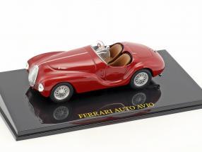 Ferrari Auto Avio red with showcase 1:43 Altaya