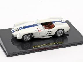 Ferrari 250TR #22 24h LeMans 1958 Hugus / Erickson With Showcase 1:43 Altaya