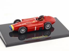 Juan Manuel Fangio Ferrari D50 world champion formula 1 1956 With Showcase 1:43 Altaya
