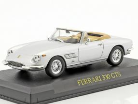 Ferrari 330 GTS silber 1:43 Altaya