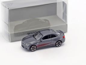 BMW M2 year 2016 gray metallic 1:87 Minichamps