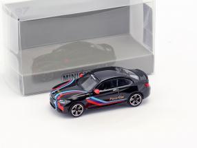 BMW M2 Pace Car 2016 schwarz 1:87 Minichamps