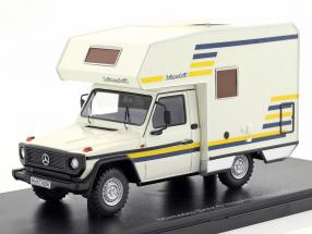 Mercedes-Benz G bimobil Husky year 1984 white 1:43 AutoCult