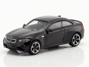BMW M2 Baujahr 2016 schwarz metallic 1:87 Minichamps