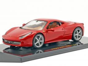 Ferrari 458 Italia rot mit Vitrine 1:43 Altaya