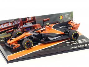 Stoffel Vandoorne McLaren MCL32 #2 Australia GP formula 1 2017 1:43 Minichamps