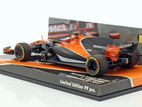 Stoffel Vandoorne McLaren MCL32 #2 Australien GP Formel 1 2017 1:43 Minichamps