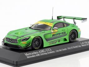 Mercedes-Benz AMG GT3 #2 FIA GT World Cup Macau 2016 van der Zande 1:43 Minichamps