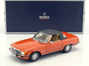 Mercedes-Benz 300 SL Baujahr 1986 orange 1:18 Norev