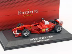 Michael Schumacher Ferrari F1-2000 #3 Weltmeister Formel 1 2000 1:43 Atlas