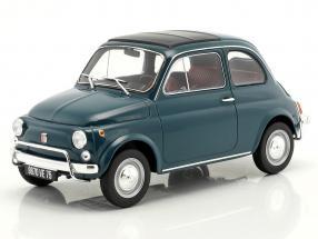 Fiat 500 L year 1968 dark turquoise 1:18 Norev