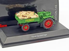 Fendt equipment rack Scheitholz green 1:43 Schuco