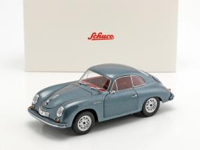 Porsche 356 A Carrera Coupe 70 years Porsche blue metallic 1:18 Schuco