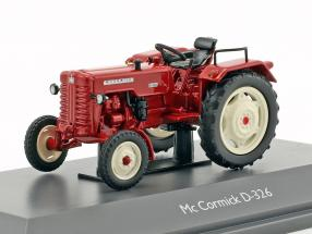 Mc Cormick D-326 tractor red 1:43 Schuco
