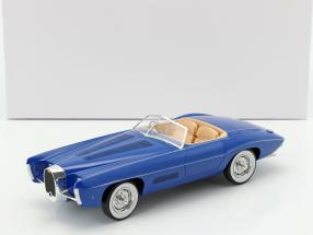 Bugatti T101C Exner-Ghia Spider year 1966 blue 1:18 Matrix