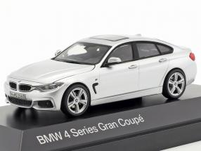 BMW 4er 4 Series (F36) Gran Coupe silver 1:43 Kyosho