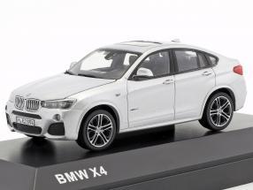 BMW X4 (F26) Year 2015 silver 1:43 Herpa