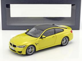 BMW M4 Coupe (F82) austin gelb 1:18 ParagonModels