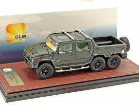 Hummer H2 SUT6 year 2012 black 1:43 GLM