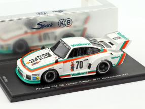 Porsche 935 K2 #70 4th DRM Hockenheim 1977 John Fitzpatrick 1:43 Spark