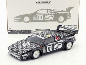 BMW M1 #111 24h LeMans 1986 Krankenberg, Witmeur, Libert 1:18 Minichamps