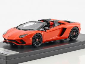Lamborghini Aventador S Roadster Baujahr 2016 orange metallic 1:43 LookSmart