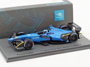 Nicolas Prost #8 Hong Kong ePrix Season 3 formula E 2016/17 1:43 Spark