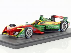 Daniel Abt ABT Schaeffler FE02 #66 Berlin ePrix formula E 2016/2017 1:43 Spark