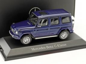 Mercedes-Benz G-Class (W463) brilliant blue metallic 1:43 Norev