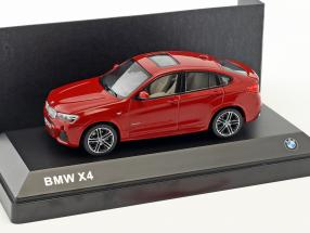 BMW X4 (F26) melbourne red metallic 1:43 Herpa