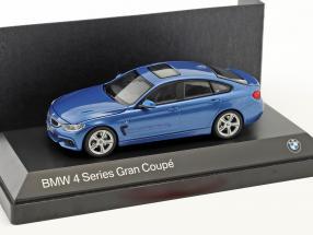BMW 4er 4 Series (F36) Gran Coupe blue 1:43 Kyosho