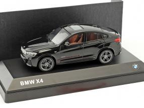 BMW X4 (F26) sapphire black metallic 1:43 Herpa