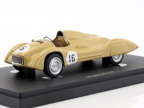 Moskvich G2 #16 year 1959 beige 1:43 AutoCult