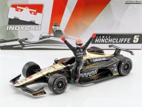 James Hinchcliffe Honda #5 IndyCar Series 2018 mit Figur 1:18 Greenlight