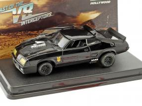 Ford Falcon XB year 1973 Movie Last of the V8 Interceptors (1979) black 1:43 Greenlight