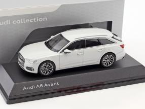 Audi A6 Avant gletscherweiß 1:43 iScale