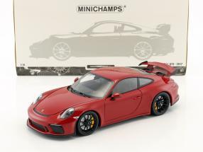 Porsche 911 (991 II) GT3 Baujahr 2017 rot 1:18 Minichamps
