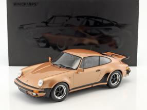 Porsche 911 (930) Turbo year 1977 pink metallic 1:12 Minichamps