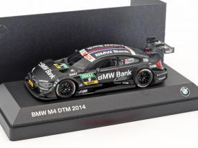 BMW M4 DTM #9 DTM 2014 Bruno Spengler 1:43 Minichamps
