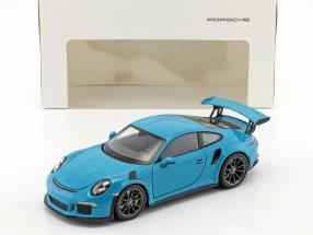 Porsche 911 (991) GT3 RS Baujahr 2016 miami blau 1:24 Welly