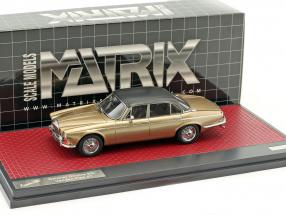 Daimler Double Six Vanden Plas S1 Baujahr 1973 sand metallic 1:43 Matrix